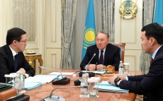 Meeting with Daniyar Akishev, Chairman of the National Bank