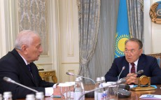 Meeting with President of the National Academy of Sciences Murat Zhurinov