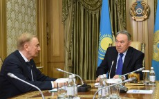 Consultations with Chairman of the Constitutional Council Igor Rogov