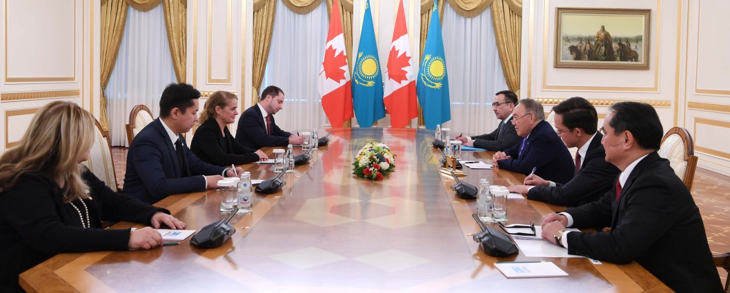 Meeting with Canada's Governor General Julie Payette