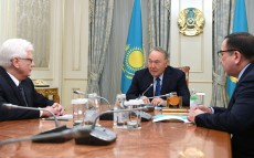 Meeting with Mikhail Bocharnikov, Ambassador Extraordinary and Plenipotentiary of Russia to Kazakhstan