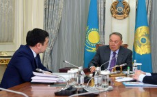 Meeting with Darkhan Kydyrali, President of the International Turkic Academy