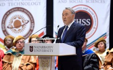 Participation in the First Graduation Ceremony at Nazarbayev University