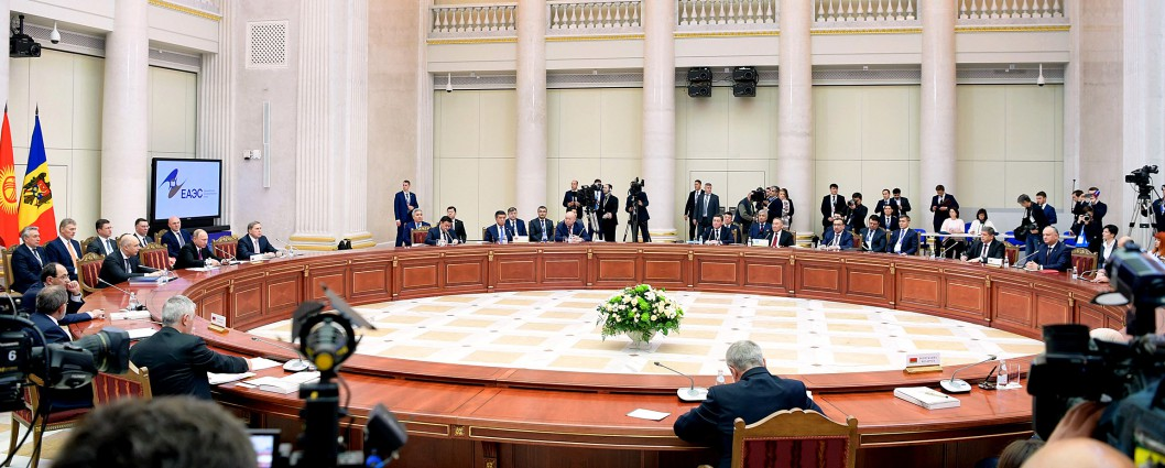 Participation in the Supreme Eurasian Economic Council session