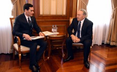 Meeting with Serdar Berdymuhamedov, Chairman of the Mejlis Committee of Turkmenistan