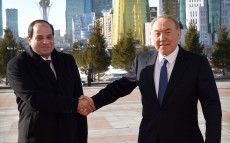 Meeting with President of Egypt Abdel Fattah el-Sisi