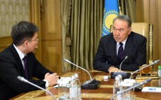 Meeting with Rector of Kazakh-British Technical University Iskander Beisembetov