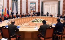 Participation in the session of the CSTO Collective Security Council